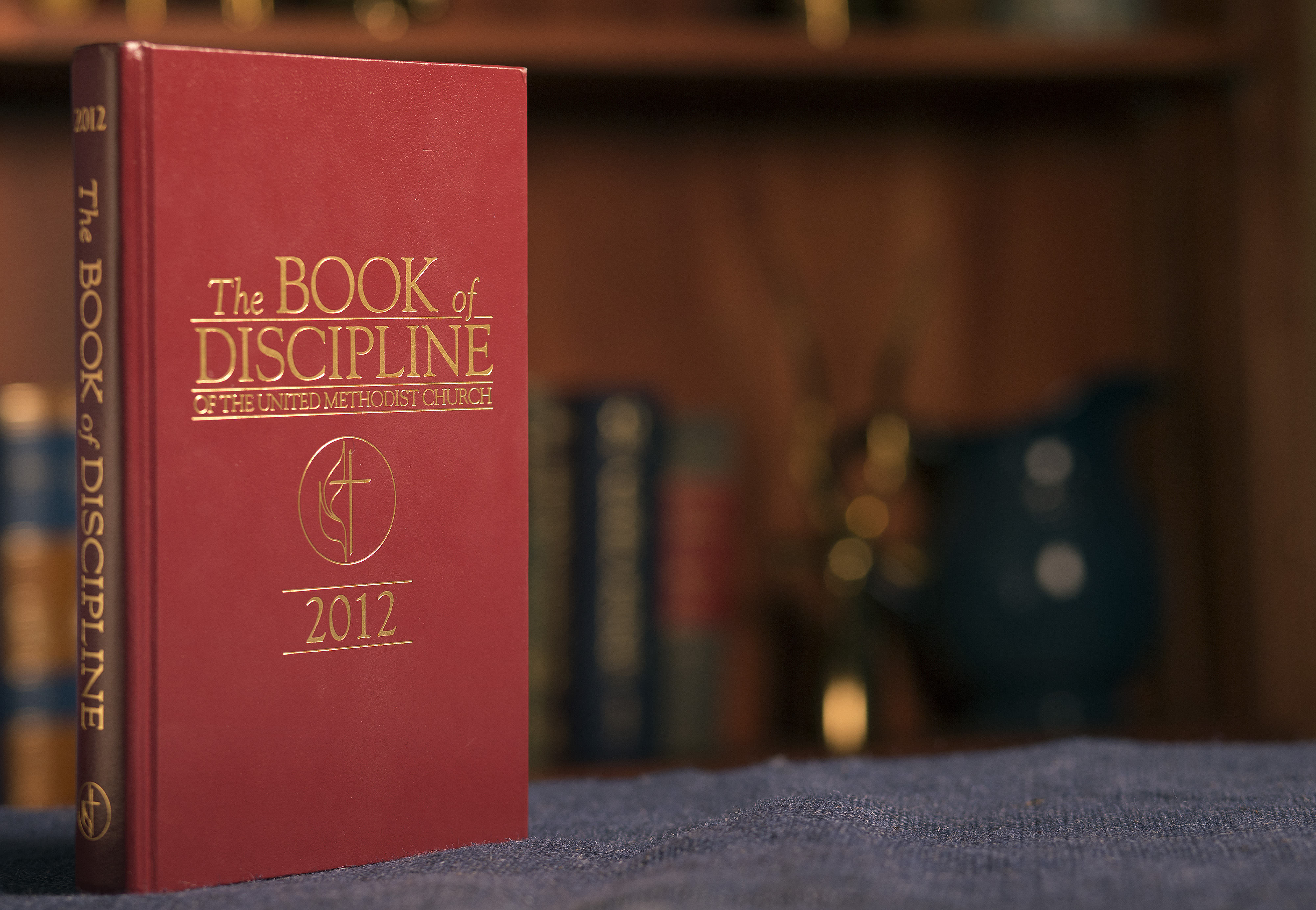 The 2012 edition of The Book of Discipline of The United Methodist Church. Photo by Mike DuBose, UMNS